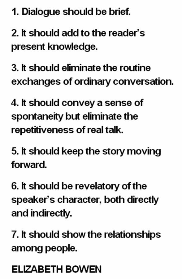 dialogue writing examples in english pdf